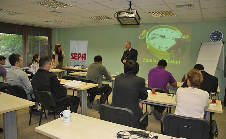 SEPA, Zaman Yönetimi Eğitimi Düzenledi