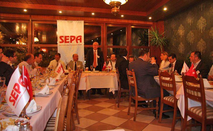SEPA Üyeleri Sektör Kaynaşması Yemeğinde Buluştular