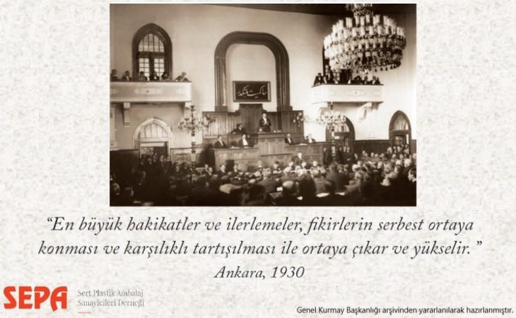 Türkiye Büyük Millet Meclisi 100 yaşında