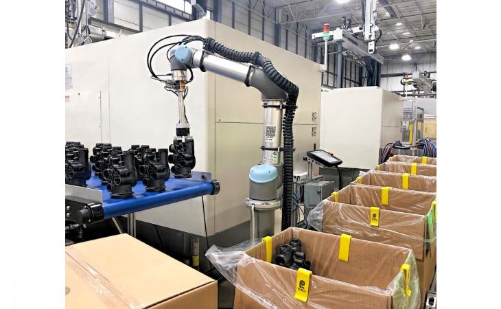 Üretim hattında çalışan personel sıkıntısı robotlarla aşılabilir mi ?